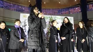 港北東急SC「2017 クリスマスイルミネーション点灯式」!