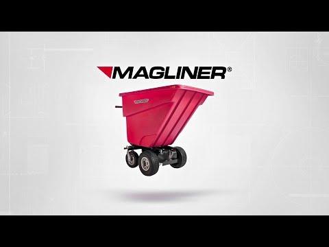 Magliner Motorized Hopper Cart