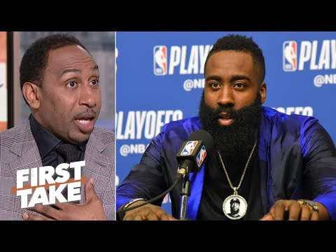 James Harden doesn't matter vs. the Warriors because the Rockets will lose - Stephen A. | First Take