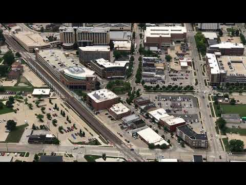 Bloomington-Normal From Above (3 Of 3)
