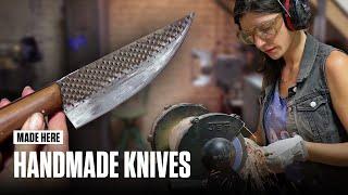 MADE HERE: Handmade Knives With Chelsea Miller | Popular Mechanics