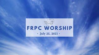 FRPC  July 25, 2021