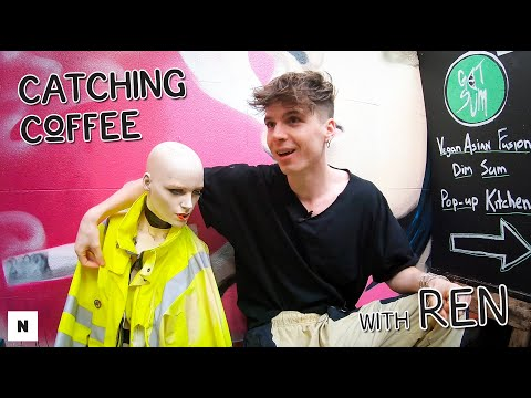 Catching Coffee with Ren | Busking, Screaming Fans & Being Blocked by Calvin Harris!