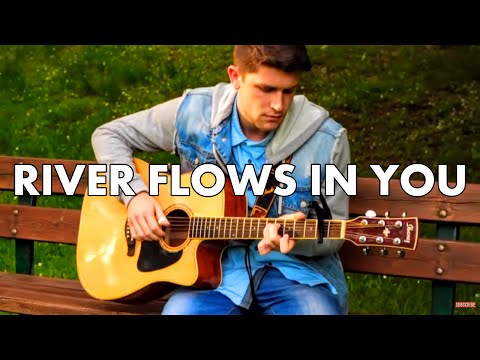 River Flows In You - Yiruma (Fingerstyle Guitar Cover) [+ FREE TABs]