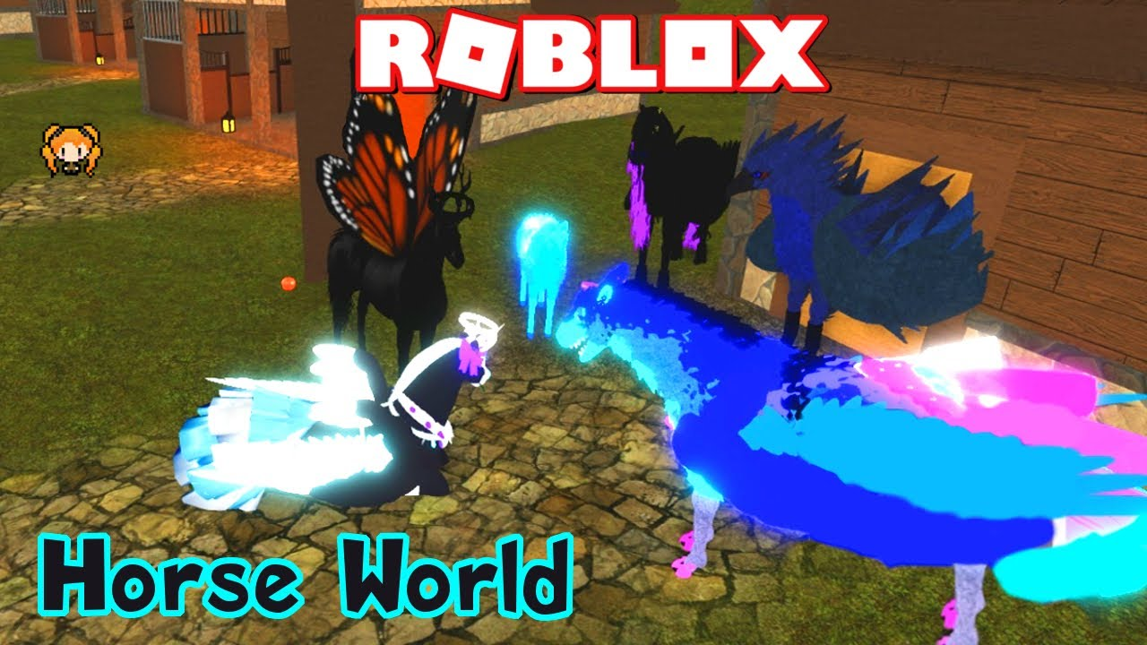 Hippogriff Showcase Roblox Horse World Djdonut003 Roblox Horse World Rags To Riches Pony To Princess Oh No They Found Me Youtube