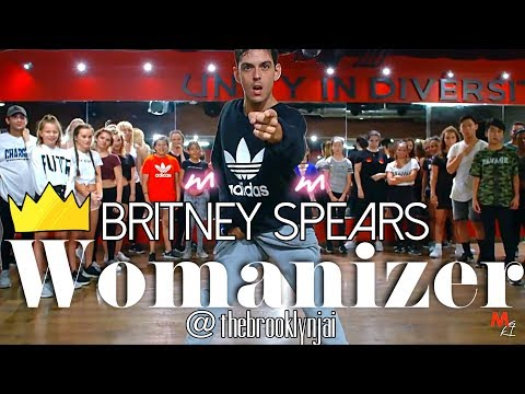 Britney Spears  - Womanizer  -  choreography by - Brooklyn Jai