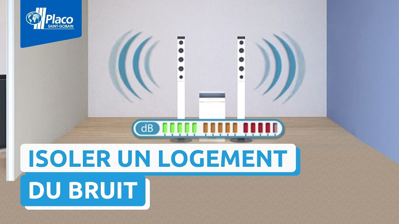 comment isoler mon logement la solution placo phonique youtube - Solution Anti Bruit Appartement