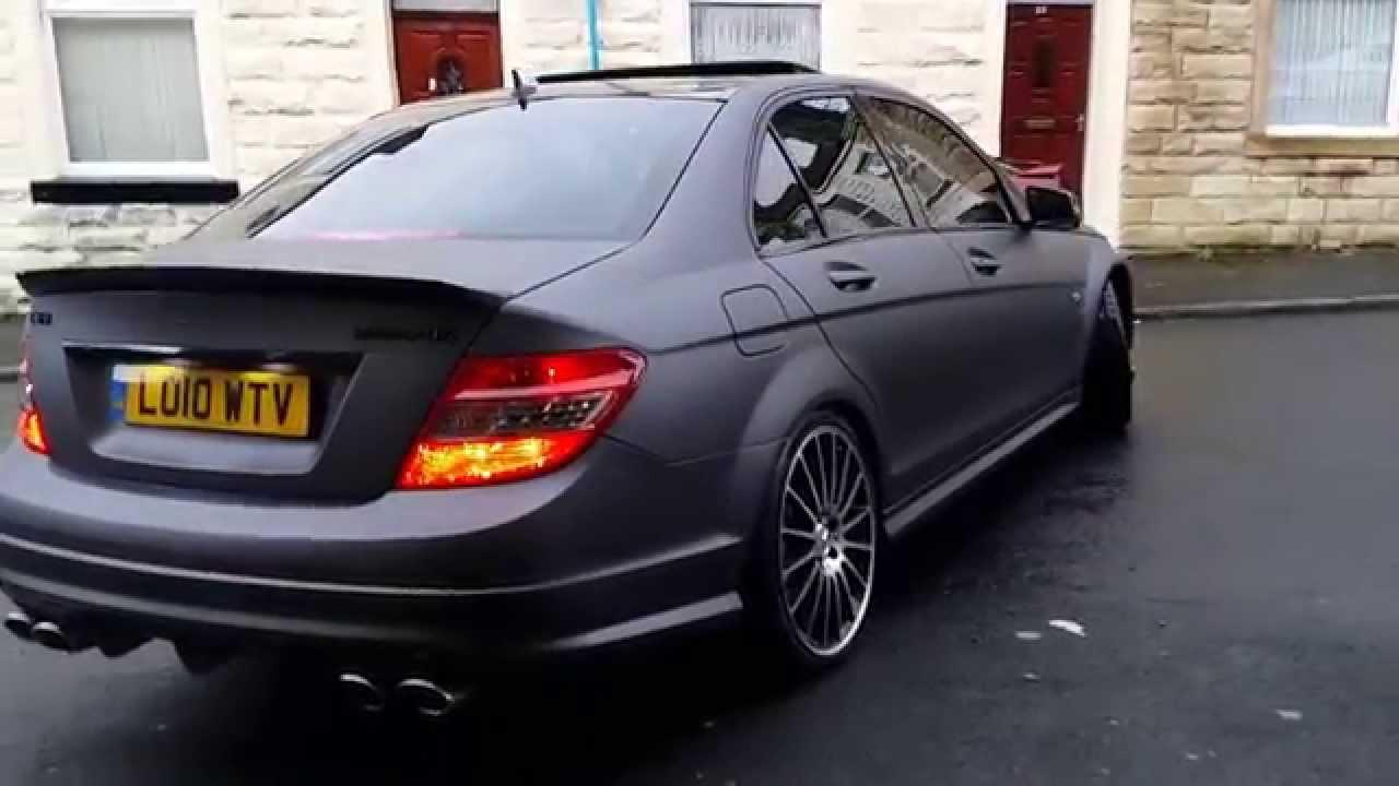 Mercedes C63 Amg Charcoal Matte Metallic Youtube