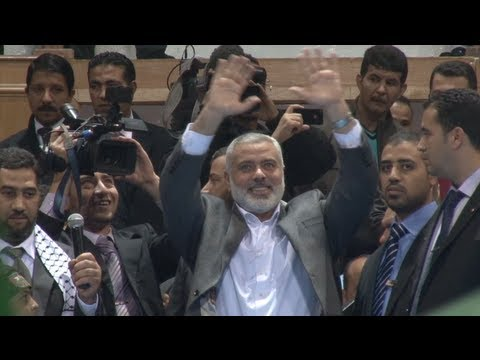 Gazan Prime Minister Ismail Haniyeh Meets Hundreds of Supporters in Tunisia