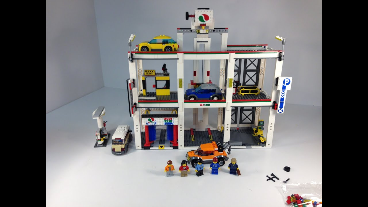 Lego City Garage : Lego city city garage from review youtube