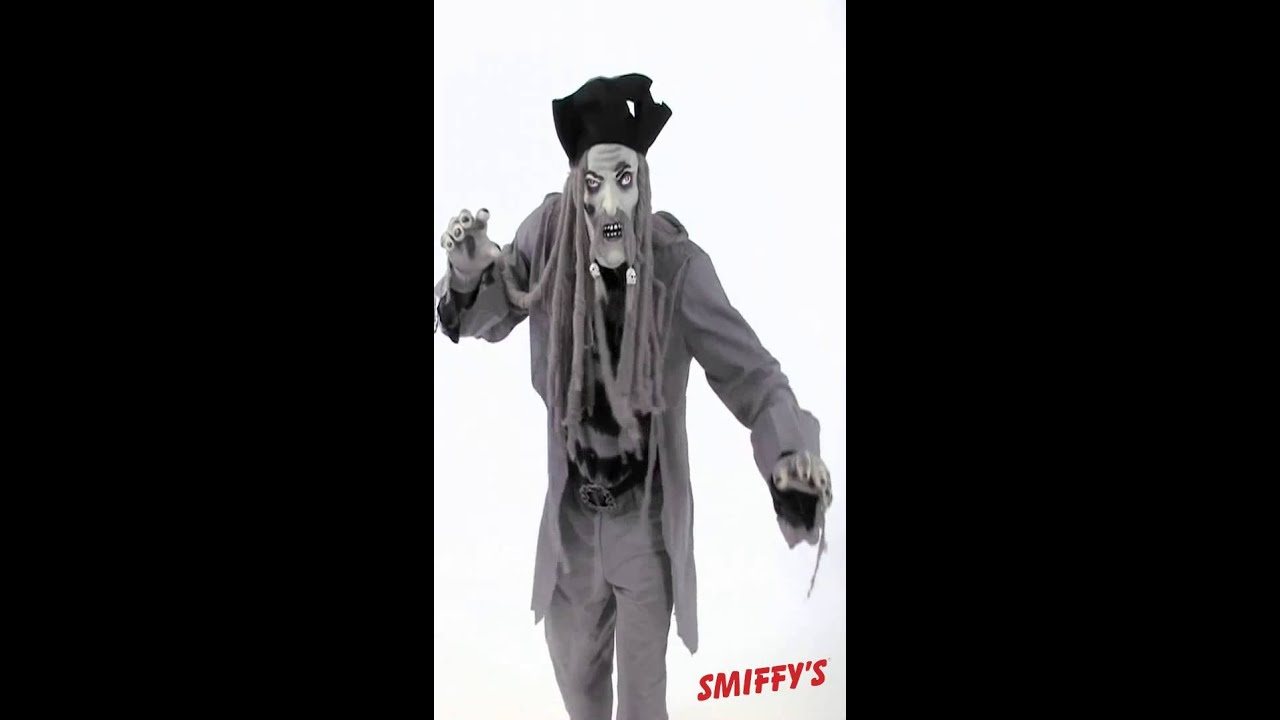 D guisement de pirate fant me youtube - Pirate fantome ...