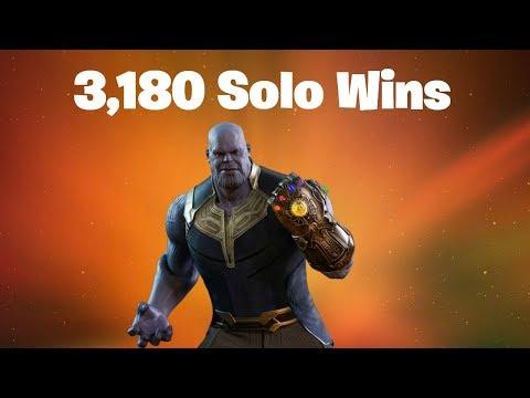 #1 World Record 3,180 Solo Wins | Fortnite Live Stream