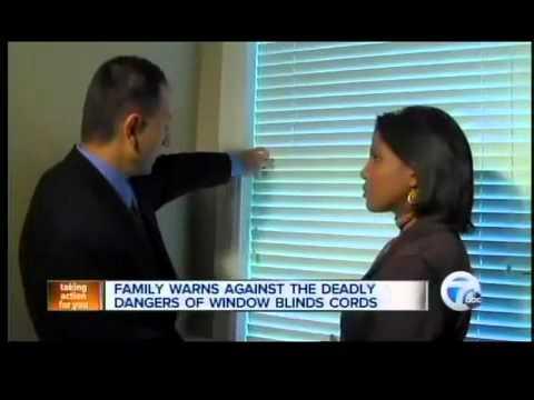 Dangers of window blinds.