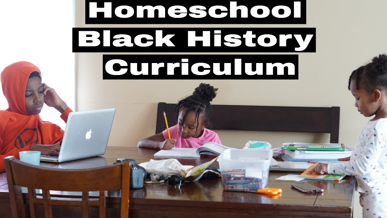 A Day In The Life | Being A Homeschool Mom | Black History ...