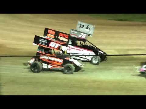 Delta Speedway 9/1/19 Jr Sprint Main- Ty