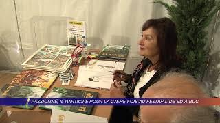 Yvelines | Passionné, il participe pour la 27ème fois au festival BD