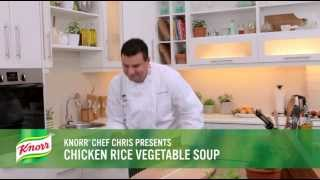 Chicken Rice Vegetable Soup | Easy Soup Recipe From Knorr®