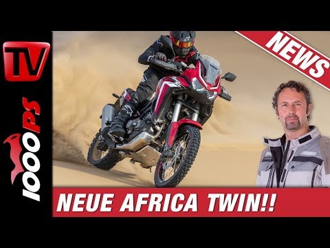 Neue Honda CRF1100L Africa Twin 2020