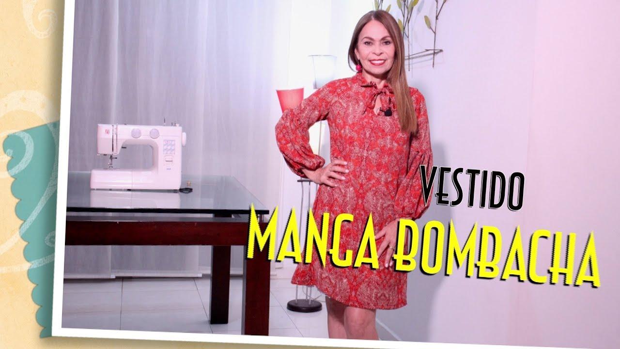 DIY Vestido manga Bombacha -sleeveless dress- Omaira tv - YouTube