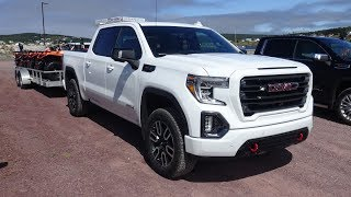 2019 GMC Sierra first drive from Canada with new unique trailer features, part one