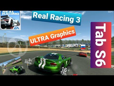 Real Racing 3/КАК Я УЛУЧШИЛ ГРАФИКУ? 100% ULTRA HIGH /TAB S6 Adreno 640