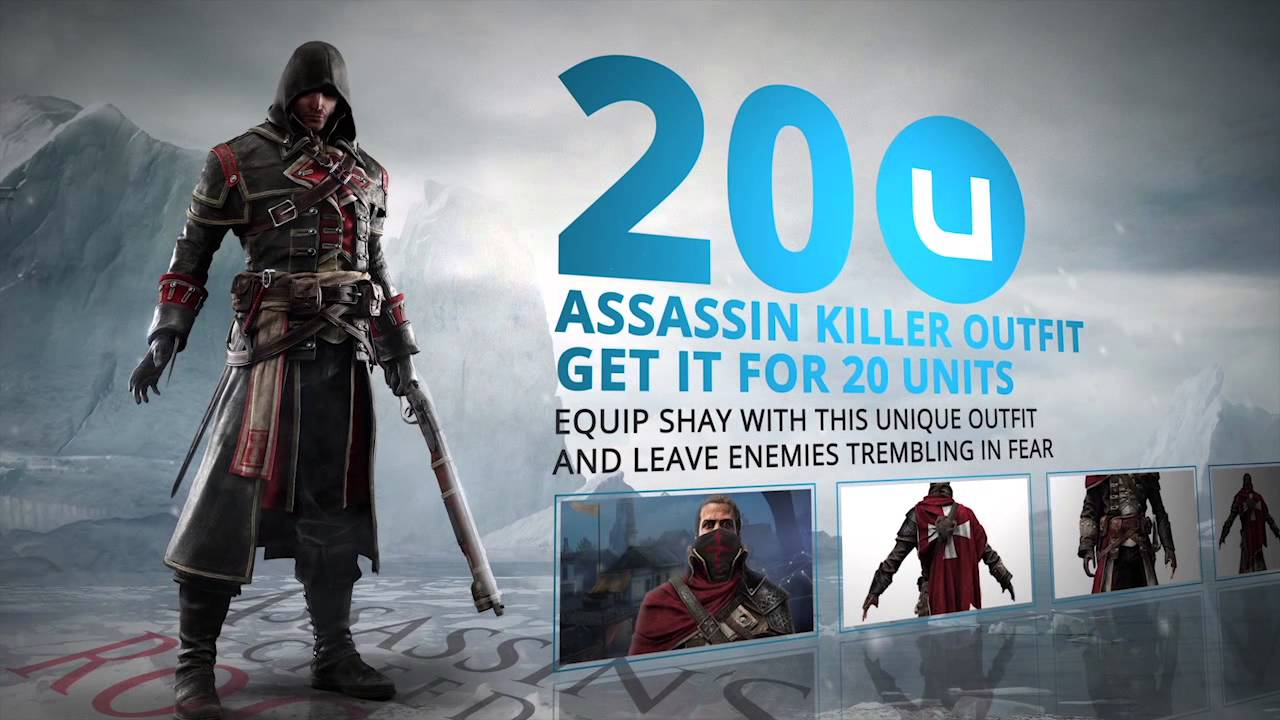 Assassin S Creed Rogue Exclusive Uplay Rewards Short Version Uk
