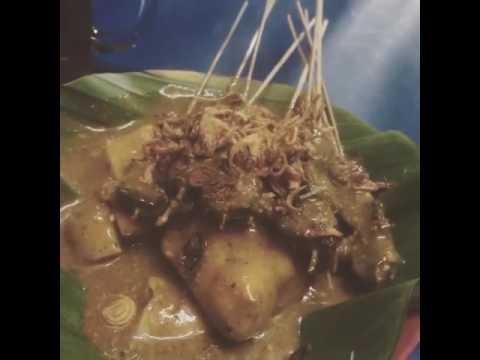 "Javanese cuisine that's call ""SATE/SATAY"" | Indonesian Traditional cuisine"