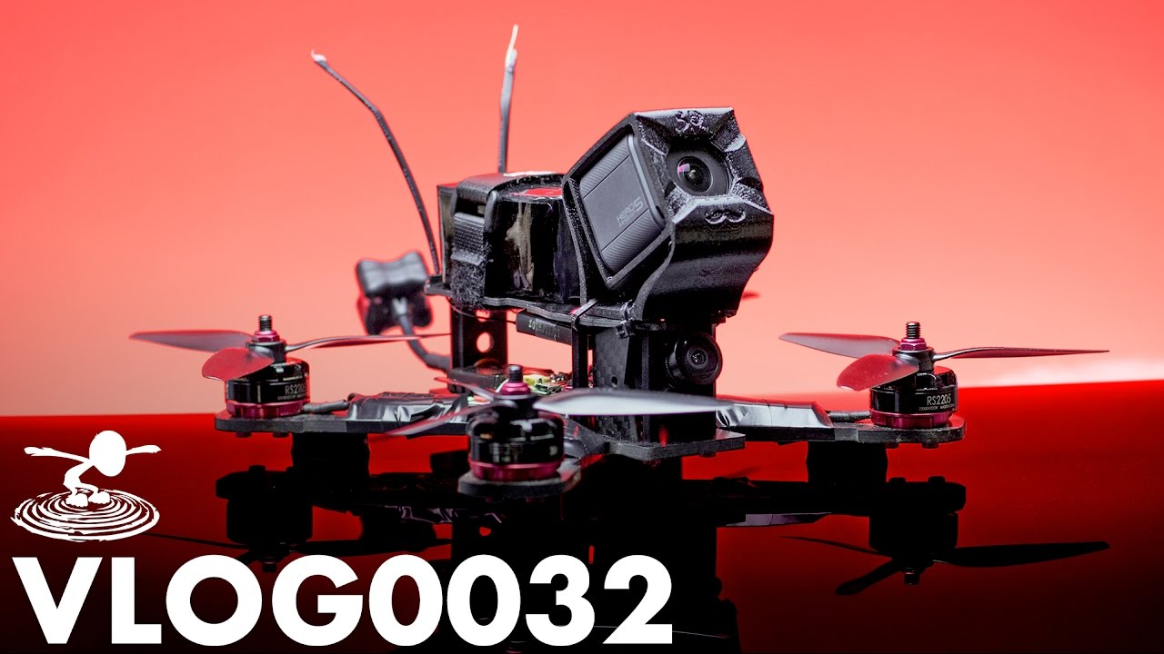 COMPLETELY UPGRADED RACE DRONE | VLOG0032