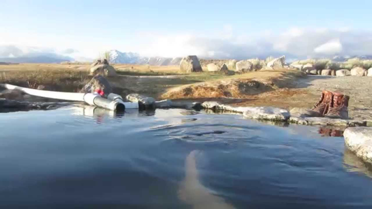 Camping at shepard's hot springs on the nighthawk - YouTube