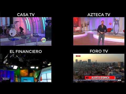 Recopilación en vivo del Terremoto de Mexico 16 Febrero 2018