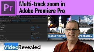 Video Multi-track zoom in Adobe Premiere Pro download MP3, 3GP, MP4, WEBM, AVI, FLV Oktober 2018