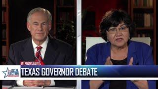 WATCH: 2018 Gubernatorial debate between Gov. Greg Abbott, Lupe Valdez