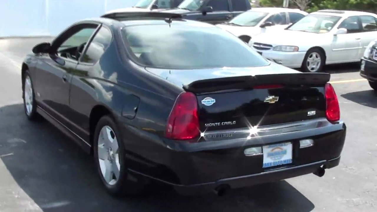 2006 chevy ss monte carlo for sale in pinellas park florida youtube. Black Bedroom Furniture Sets. Home Design Ideas