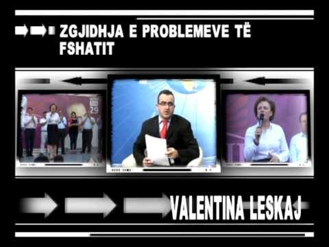 Valentina Leskaj ne Fakt Zgjedhor. A.H
