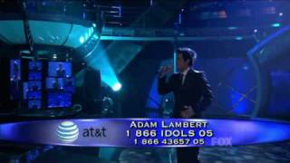 Adam Lambert IF I CANT HAVE YOU-LIVE HQ  American Idol