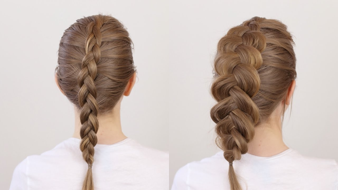 How to: Big Braid on Thin Hair