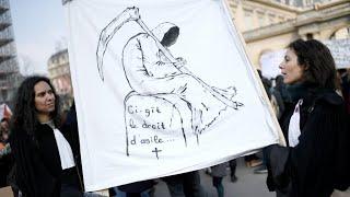 Loi asile immigration en France: