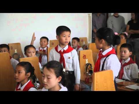 North Korean Children Learning English