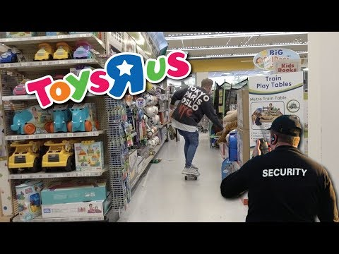 KICKED OUT OF TOYS R US...