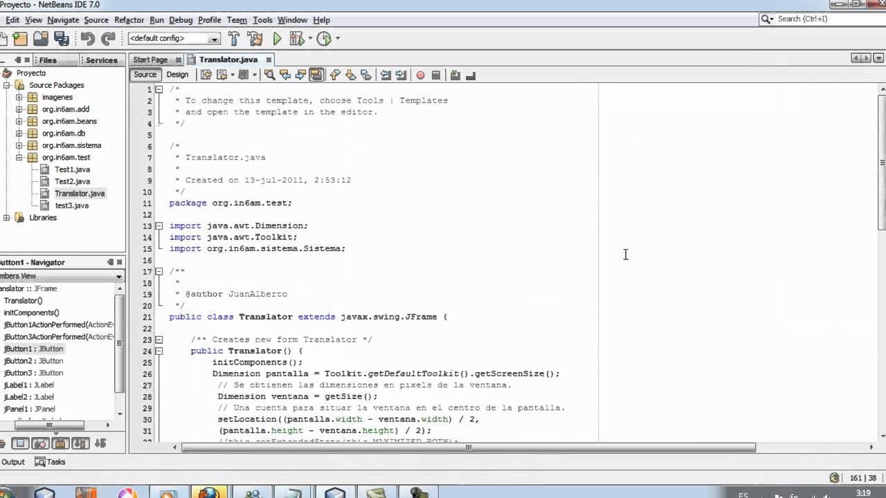 Tutorial Como hacer un traductor en Java - Java Translator