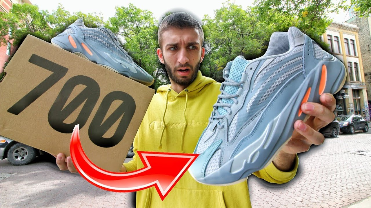 NO ONE WANTS YEEZYS! ADIDAS YEEZY 700V2 BOOST INERTIA RELEASE REVIEW!