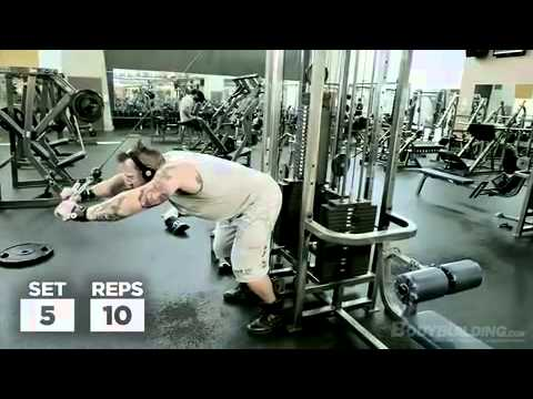Kris Gethin's DTP Arms & Lower Abs Workout