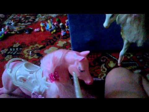 обзор игрушечных лошадей часть 1