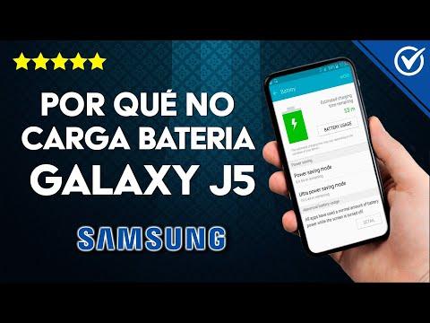¿Por qué no Carga la Batería de mi Samsung Galaxy J5? - Solución