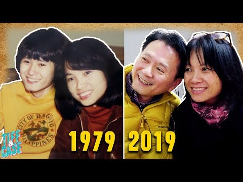 Parents do the 40 Year Challenge
