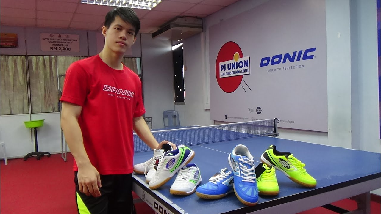 Donic Waldner Flex III: PERFECT SHOES You Need For Table Tennis