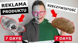 REKLAMA SŁODYCZY vs. RZECZYWISTOŚĆ - 7DAYS, OREO, KINDER!