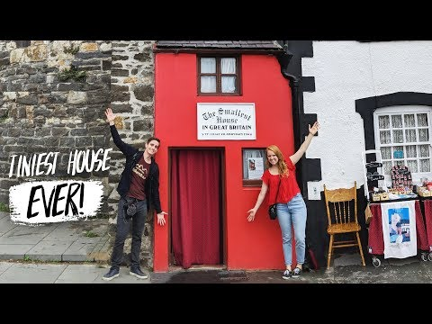 The SMALLEST HOUSE IN BRITAIN! + Exploring Conwy Castle 🏰😍 (Conwy, Wales)
