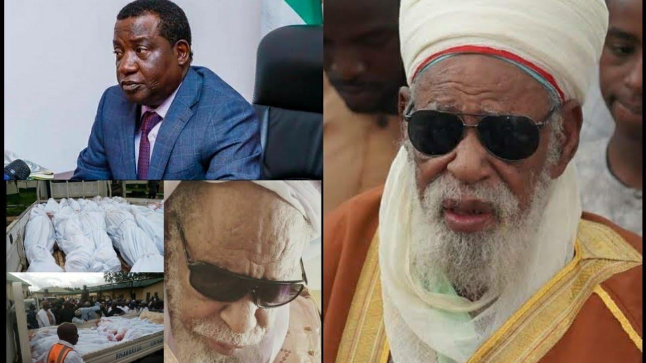 Download Wayar Sheikh Dahiru Bauchi Da Gomnan Jahar Jos Simon Lalong Kadai Ya Ishi Jama'a Sugane Shehi Jagora