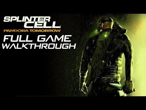 Splinter Cell: Pandora Tomorrow - FULL GAME - No Commentary